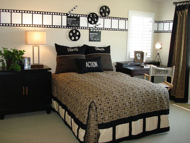 Boy S Room Hollywood Theme Bedrooms Bedroom Themes Movie