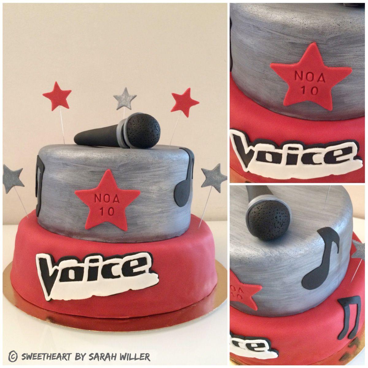 The voice cake id e gateaux birthday cake birthday et cake - Voix de garfield ...