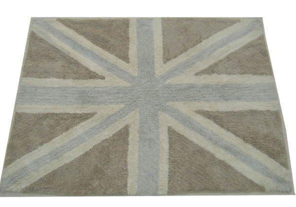 199e Lorena Canals Flag Grey (beige) 140 x 200 cm lastenhuoneen matto - Catalina