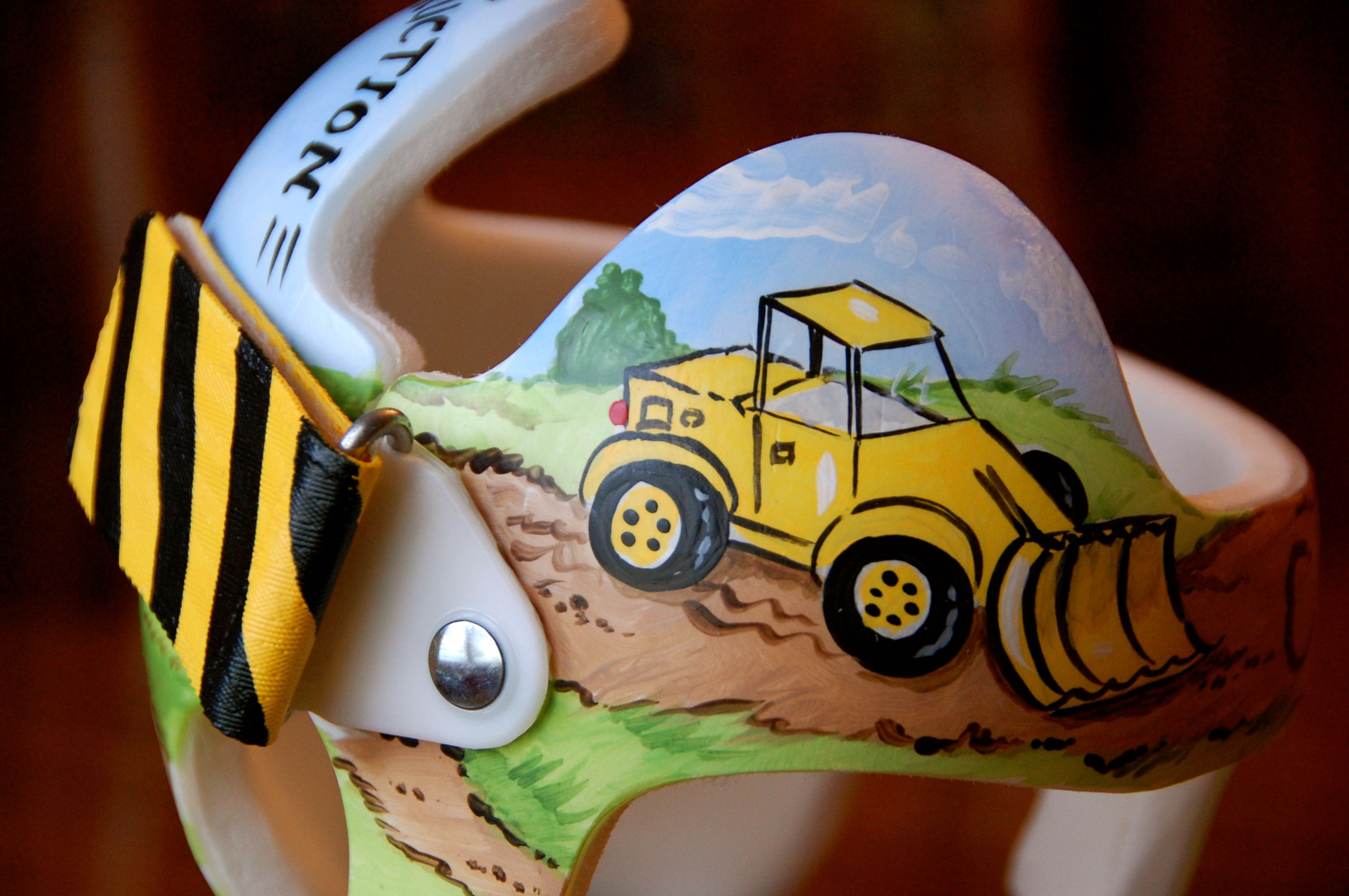 Construction Zone Cranial Band Cranial Bands Helmets