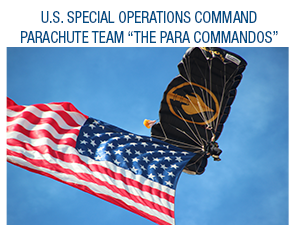 Come see the amazing sights of the Para-Commandos and more at the Oregon Air Show this year!