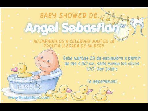Invitaciones De Baby Shower Cristiano Mensajes Para Invitaciones De Baby Shower Cristianos Invitaciones Baby Shower Baby Shower Baby