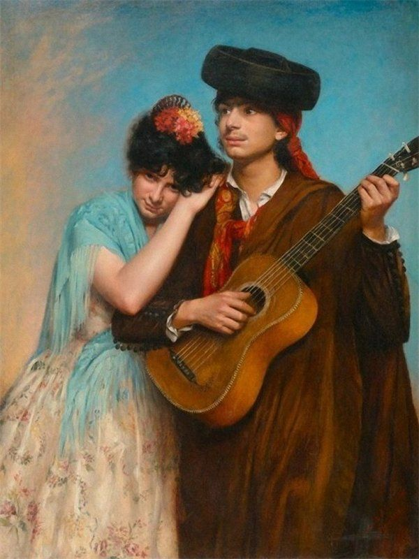 гитара романс в живописи: 7 тыс изображений найдено в ...