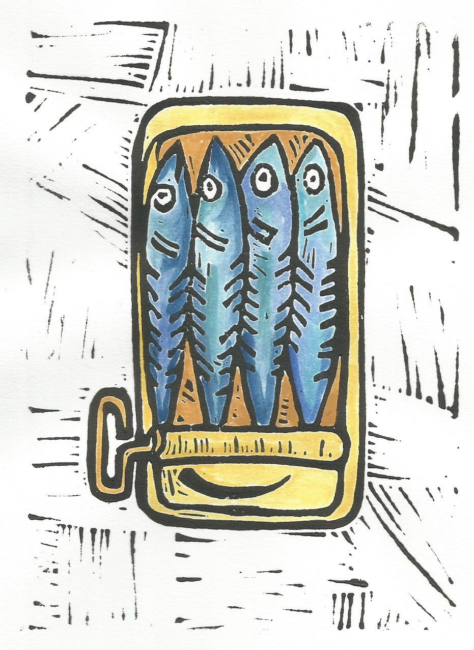 Check it out! This awesome printmaker is in the Channel Islands!