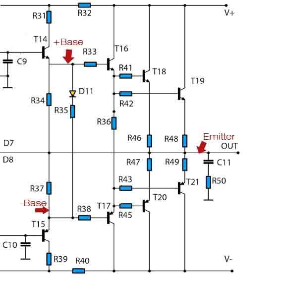 how to parallel final transistor power amplifier in 2019