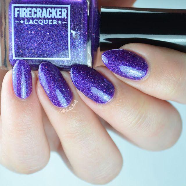 Firecracker Lacquer Vio-Let Me Down Easy