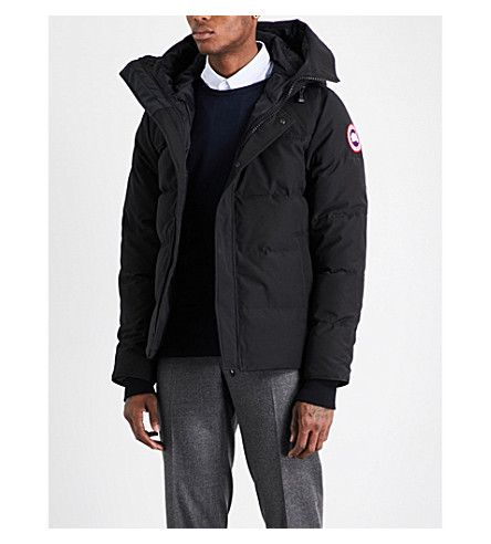 Canada Goose Macmillan Quilted Parka In Black Modesens Quilted Parka Parka Jackets