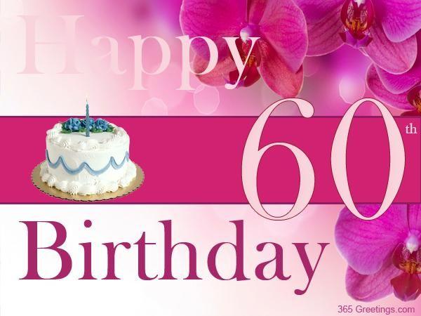 Birthday Cards – Free 60th Birthday Cards