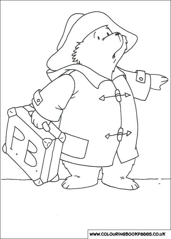 33 Fab Paddington Bear Colouring Pages For Kids Rainy Day Fun For Kids With These Paddington Bear Colourin Bear Coloring Pages Colouring Pages Paddington Bear