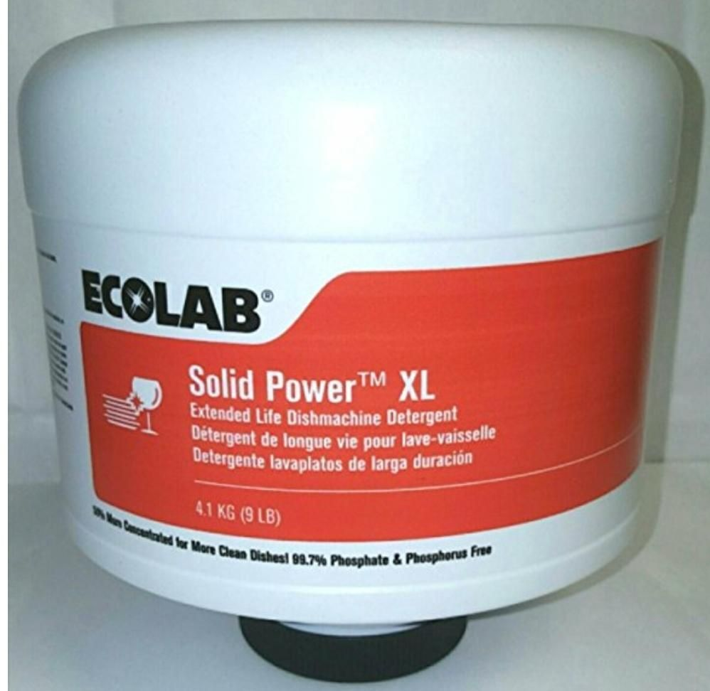 Ecolab Solid Power Commercial Dish Washing Machine Detergent