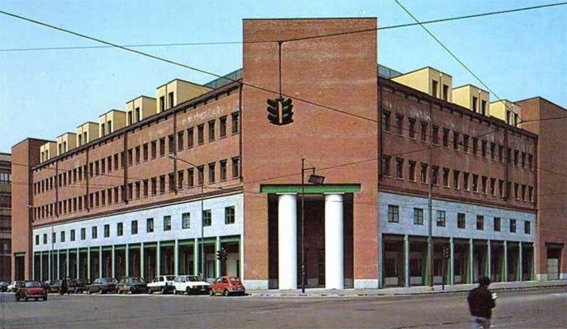 aldo rossi architetto / la sede del gruppo finanziario tessile (casa aurora), torino