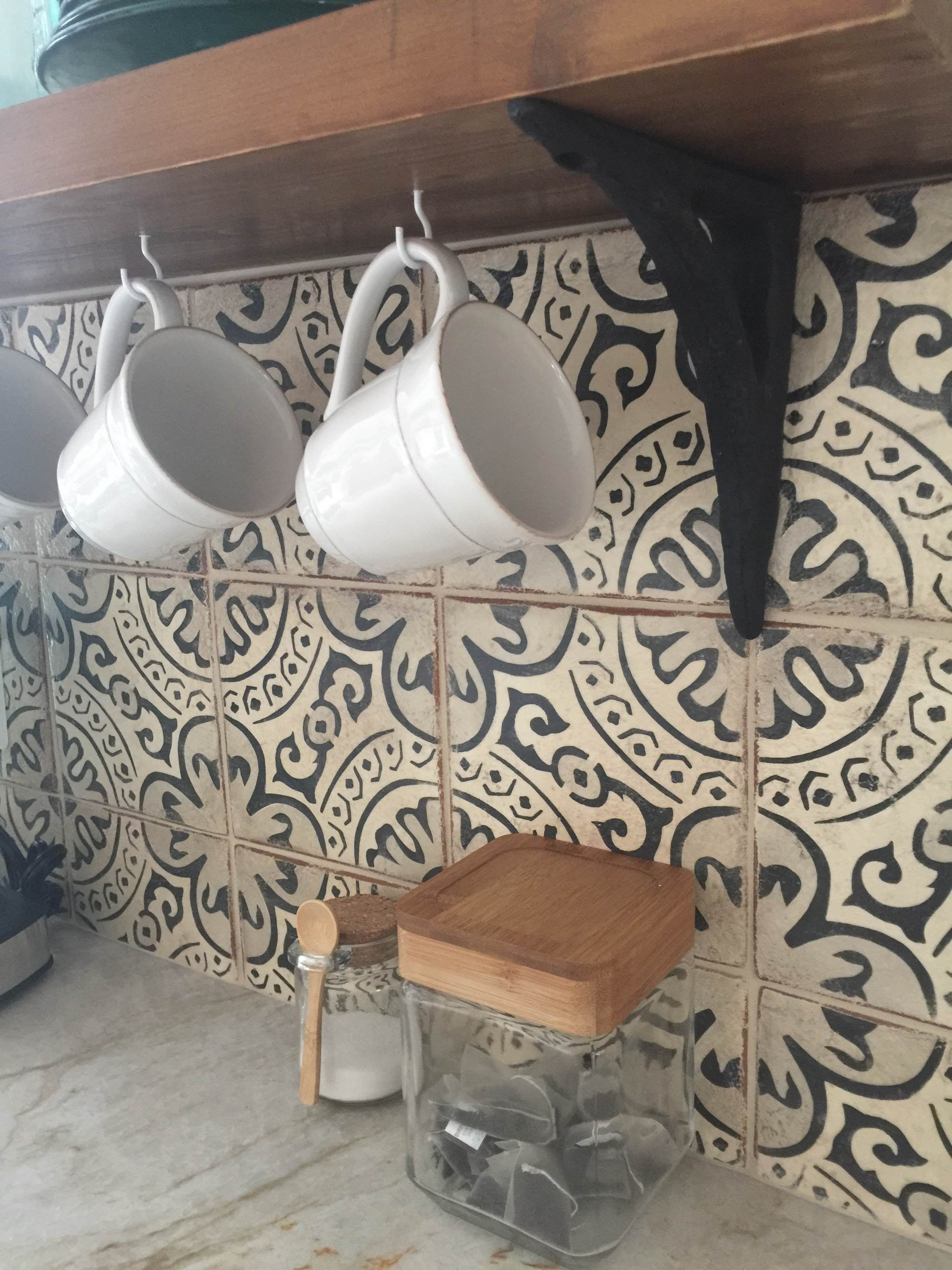 - Tabarka Studio Tile - Paris Metro Kitchen Tiles Backsplash