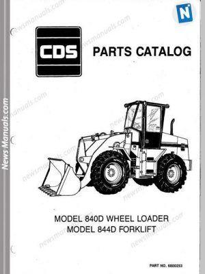 Allis Chalmers 840 844D Wheel Loader Forklift Part Manual