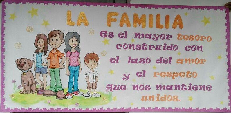 Cartelera día de la familia | Educación | Dia de la ...