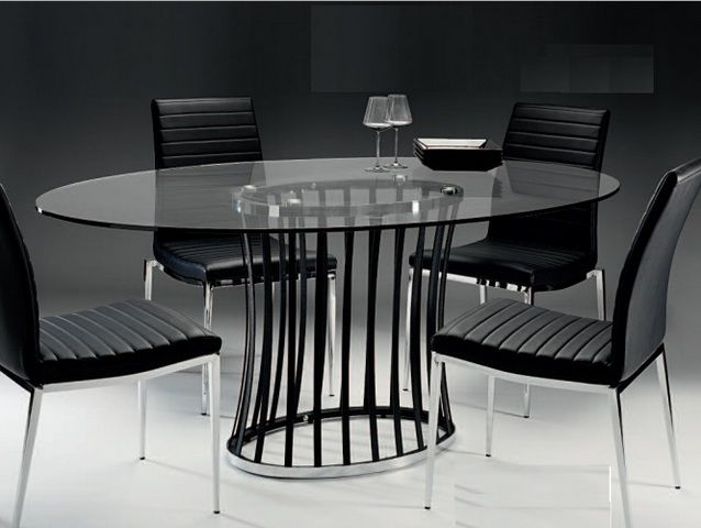 Oval Glass Dining Table Is The Best Shape If You Always Have To