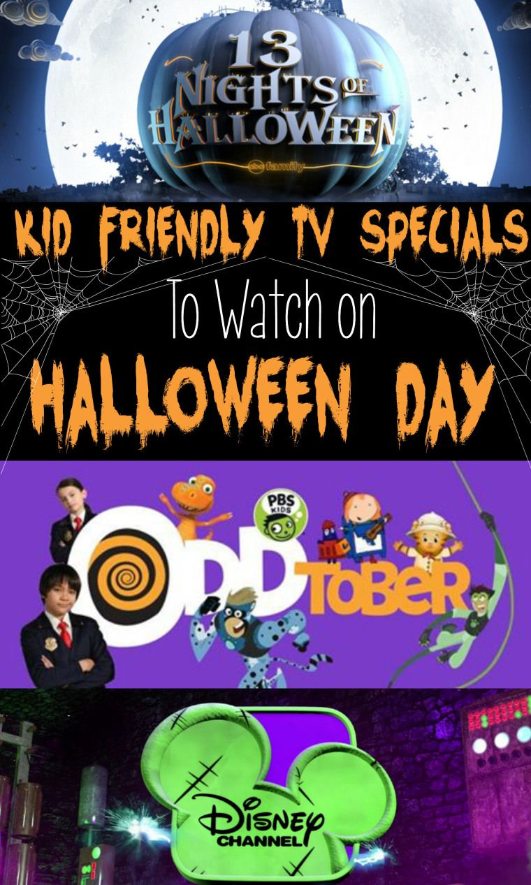 kid friendly halloween specials on tv. abc family, disney channel