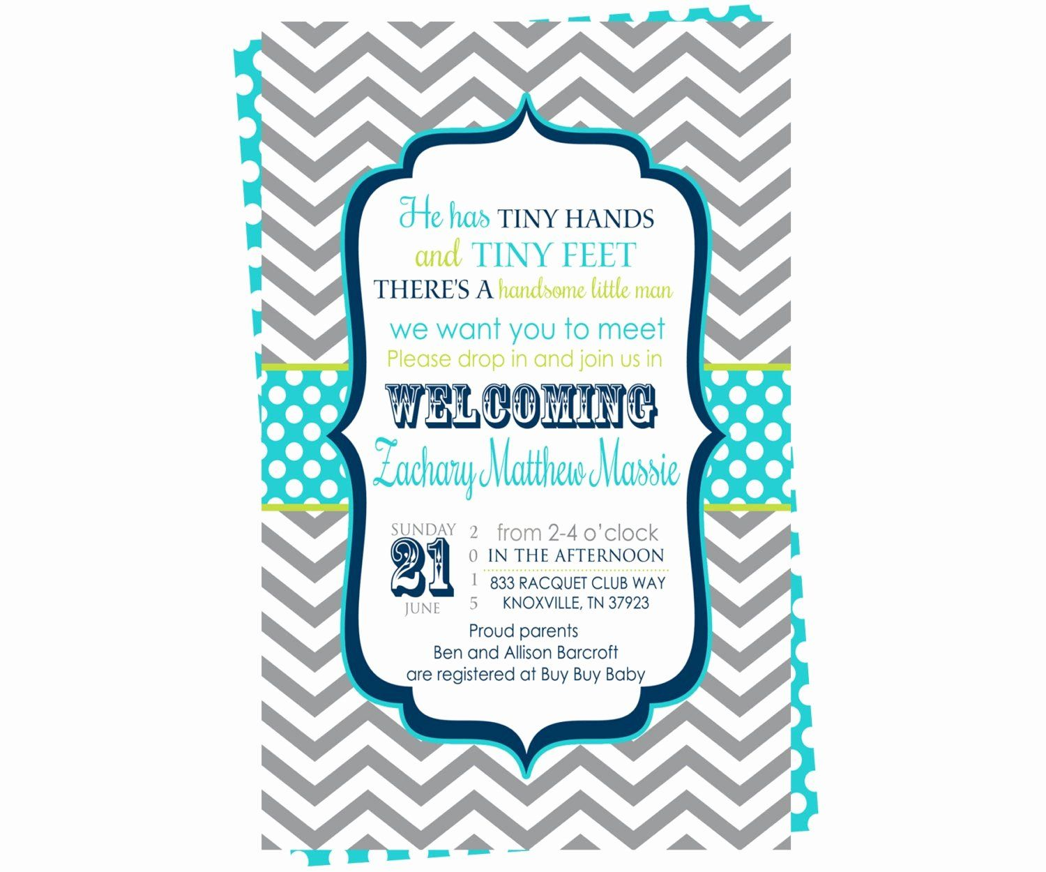 27 Meet and Greet Invitations | Baby shower invitation ...