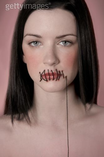 Mouths Sewn Shut - Google Search | Scary Shit | Pinterest | Halloween Circus Costume Makeup And ...