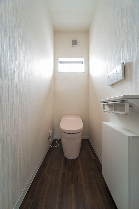 2階洗面脱衣室にパナソニックのシーライン 一面鏡 2f水回りの利点