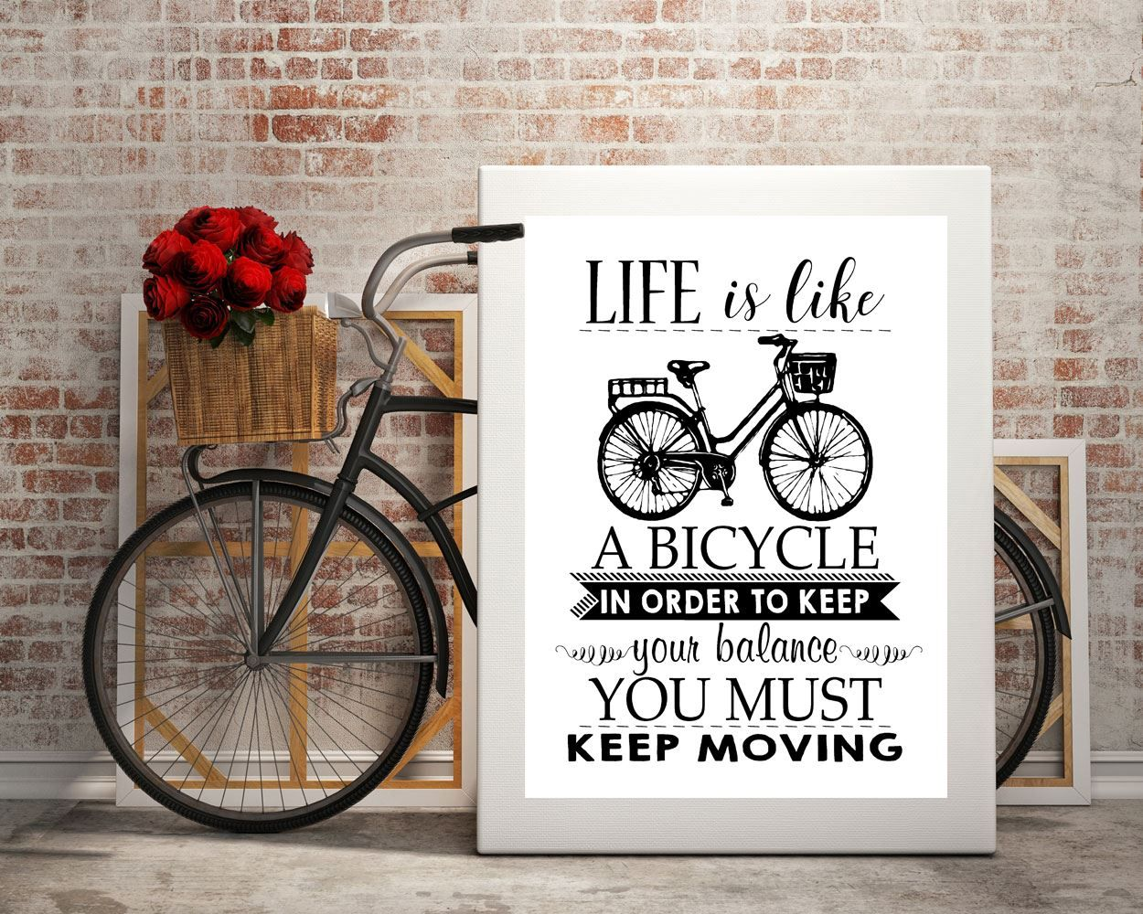 Moving Wall Art wall art keep moving digital print keep moving poster art keep