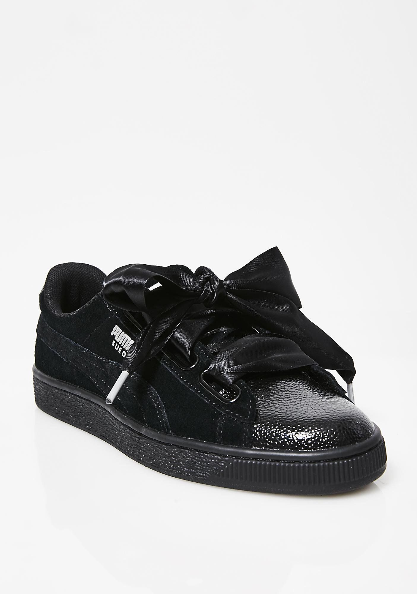 finest selection 3d0fb b9118 PUMA Suede Heart Bubble Sneakers | Shoes | Sneakers, Puma ...