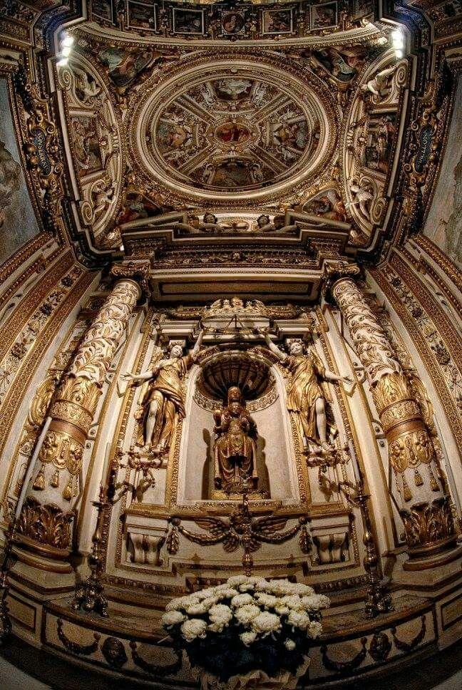 #Moreneta Chiesa di S.Maria in Monserrato degli Spagnoli #Rome #Roma #Nikon #Samyang #8mm #fisheye #HDR #RiccardoCuppini