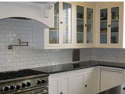 White Subway Tile Kitchen Backsplash : Tile Backsplash Ideas ... on colored marble countertops, colored glass countertops, colored quartz countertops,