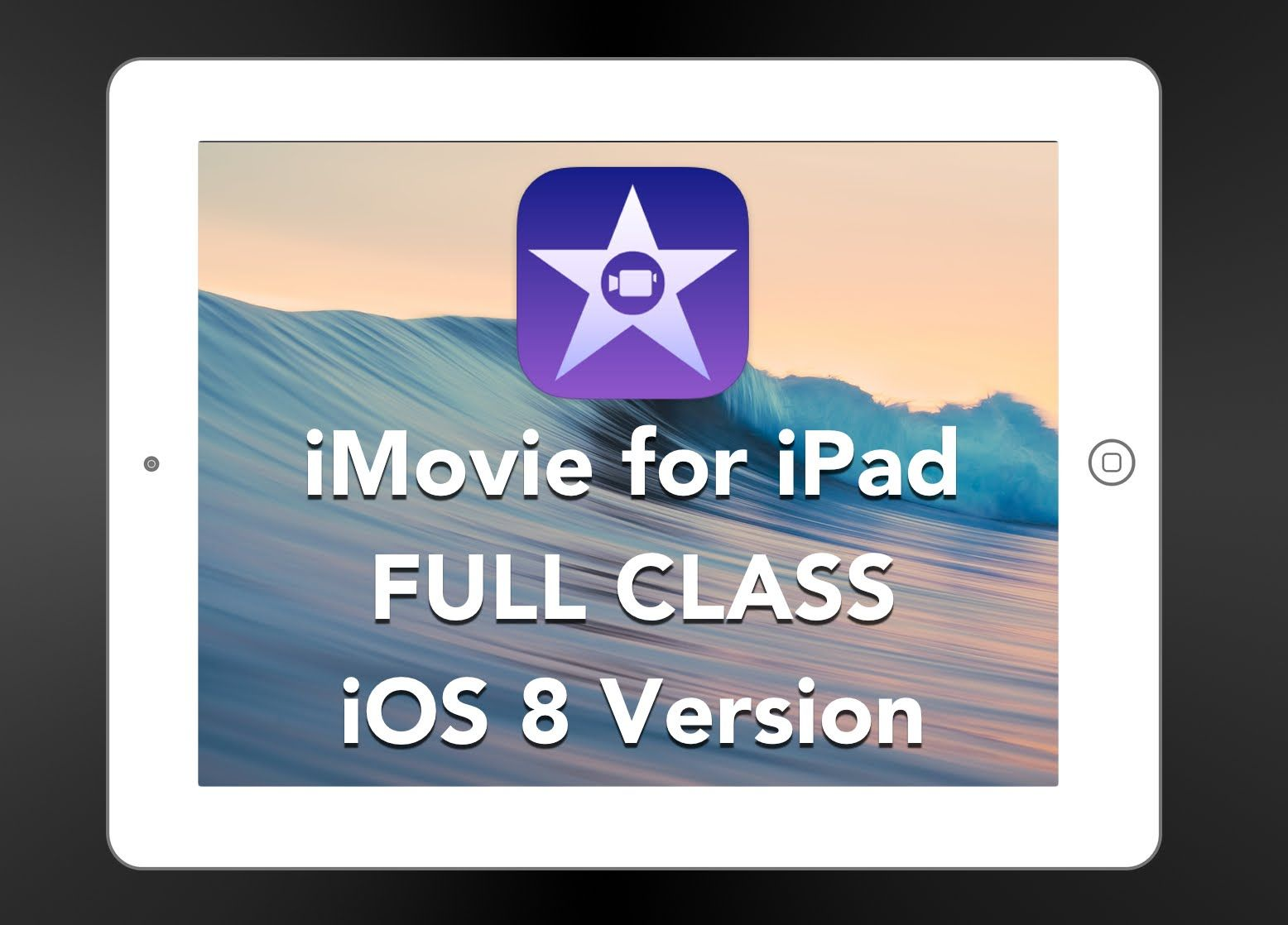 imovie is a simple, yet amazingly powerful app that will allow you