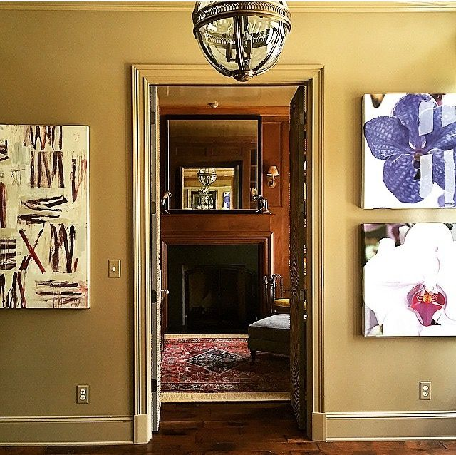 Entrance Hall Beauty...we love Evert Wittes & John Michael ...