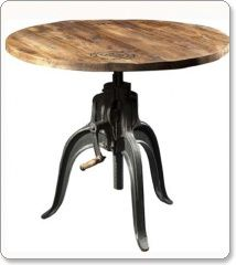 Vintage-style dining table - Lancaster T from Satelliet Browns