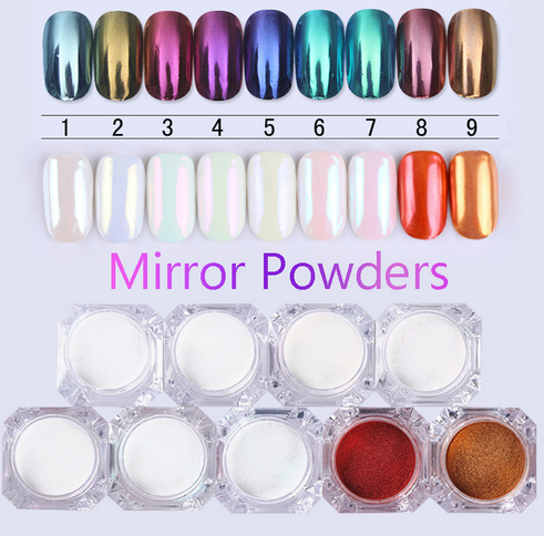 metallic nail powders looking for things to make your