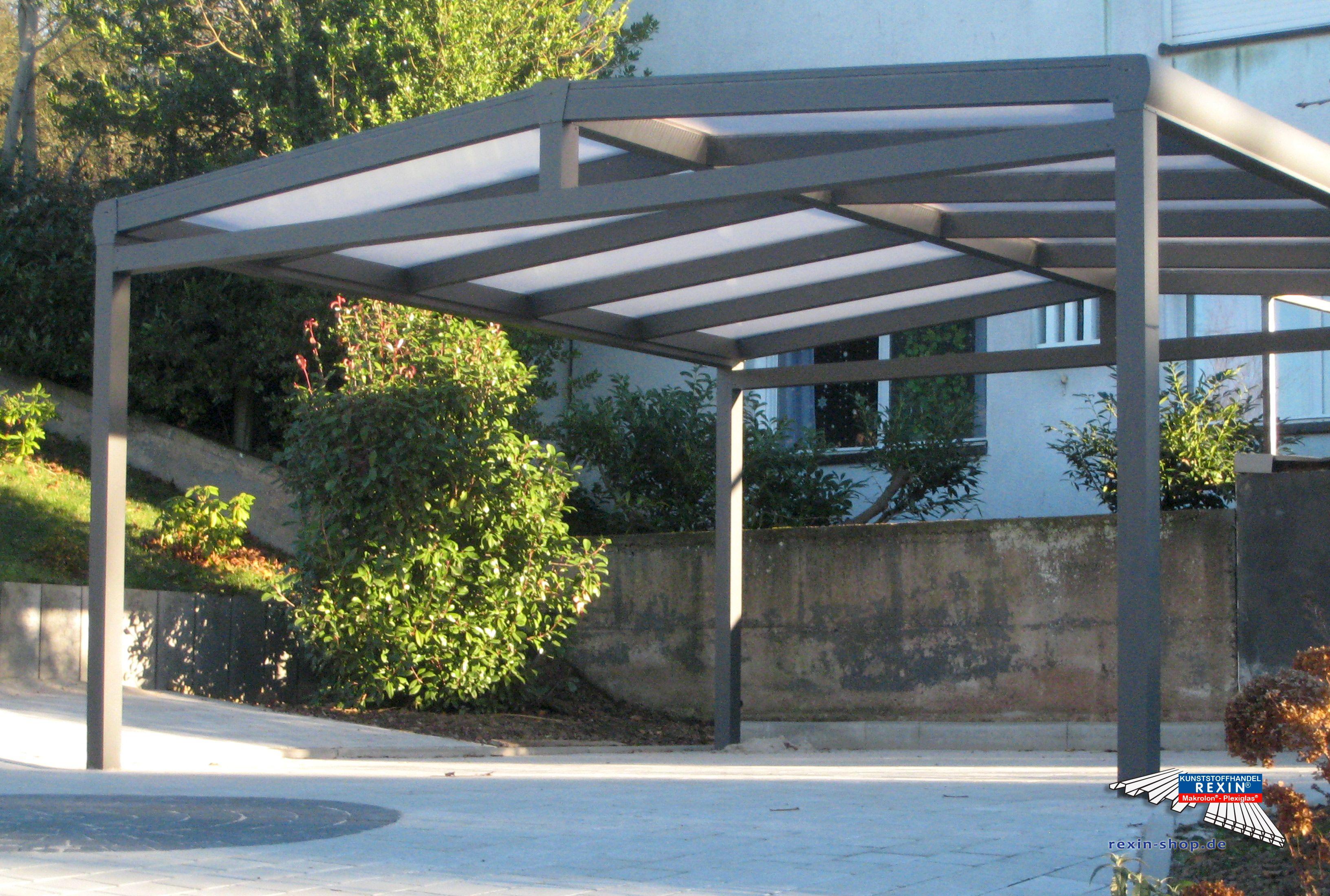 Alu Carport Der Marke Rexoport 5 12m X 5m In Anthrazit Bei Diesem Freistehenden Aluminium Doppelcarport Mit Alu Carport Carport Preise Plane Fur Scheunenhaus