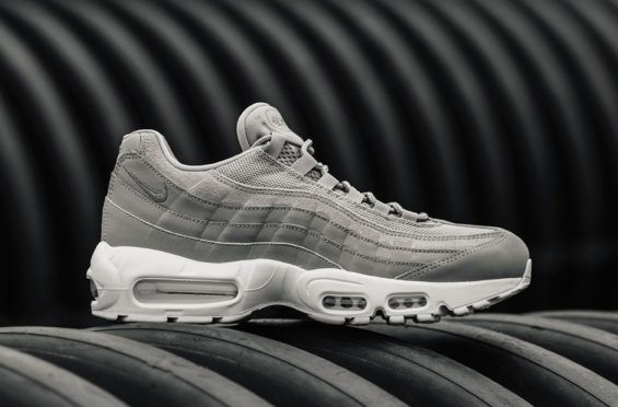 644948bd17c The Nike Air Max 95 Cobblestone Grey Can Be Worn With Ease