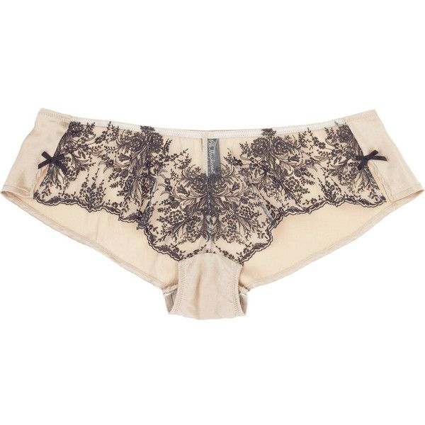 Elle Macpherson Intimates Boudoir Boudoir French knickers ( 22) ❤ liked on  Polyvore featuring intimates 93de51e0c