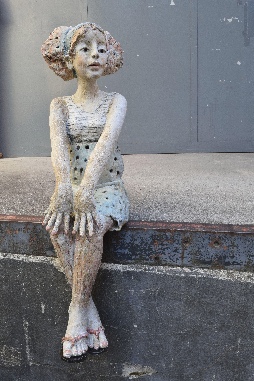 pin von annemie auf standbeelden pinterest keramik skulptur und keramik ideen. Black Bedroom Furniture Sets. Home Design Ideas