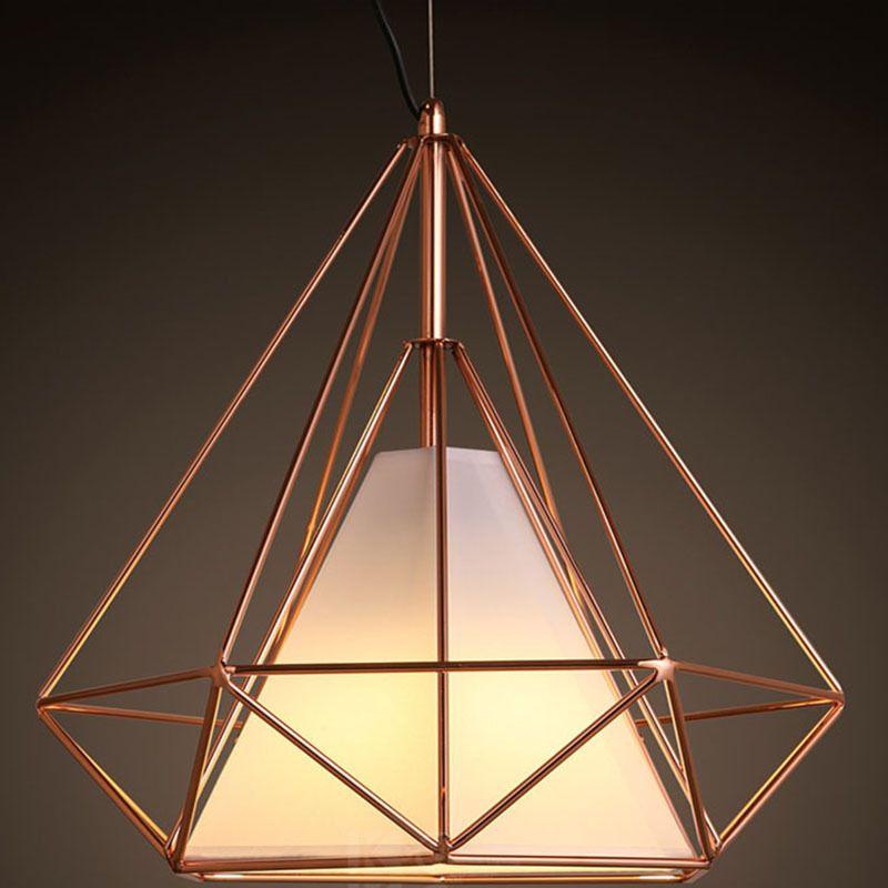 Aliexpress.com: Comprar Moderna pirámide Art hierro nórdica diamante ...