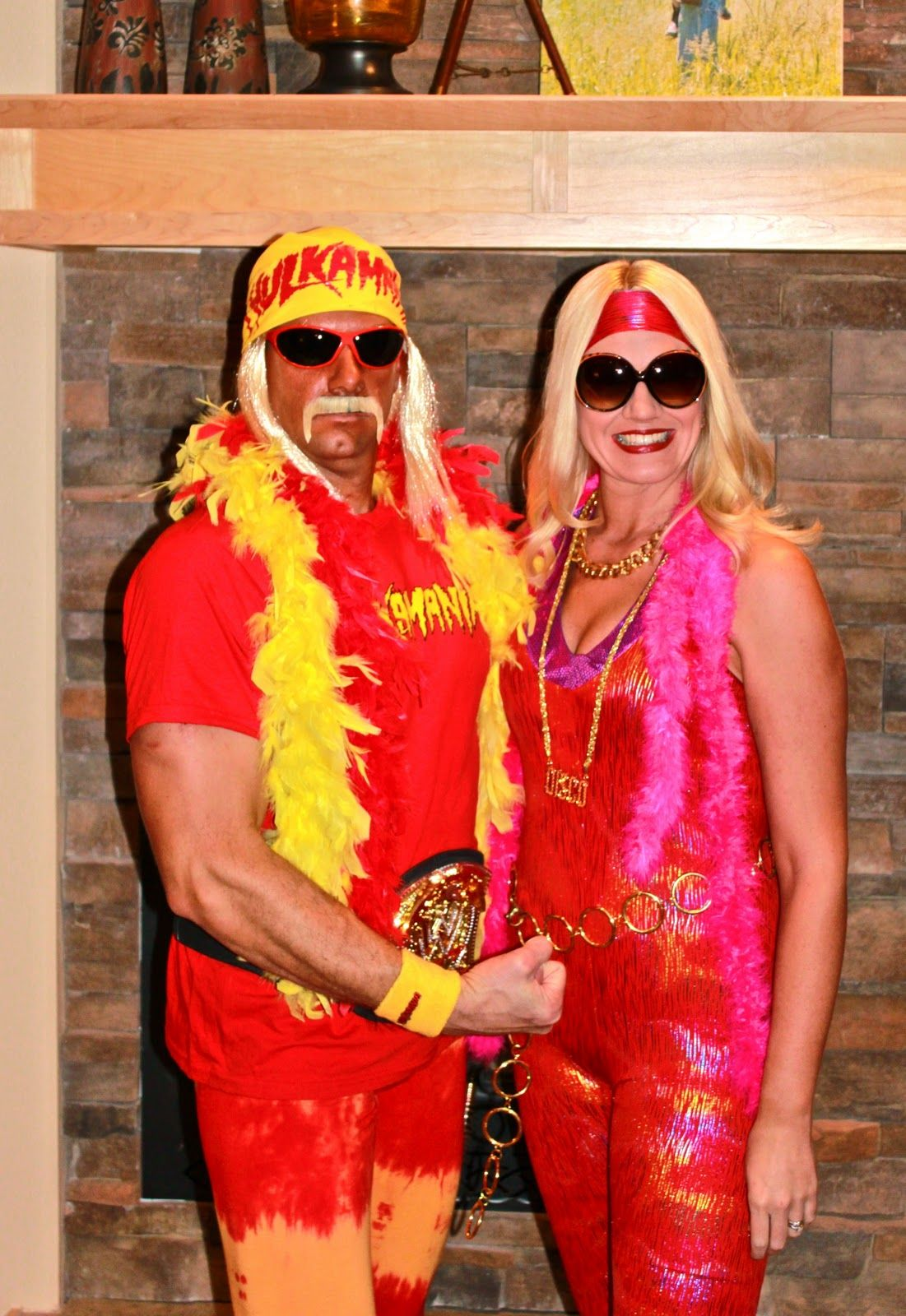 hulk hogan and wife costume