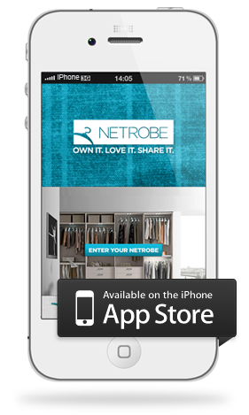 Netrobe a photographic way to manage your wardrobe App