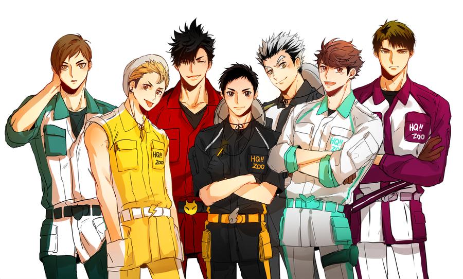 Hq Captains Haikyuu Anime Haikyuu Haikyuu Characters