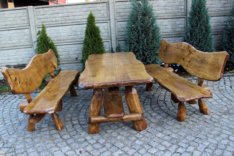 Details Zu Sitzgruppe Gartenmöbel Massivholz Terrassenmöbel Sitzgarnitur  Kiefer/Eichenholz