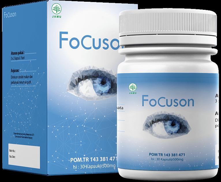 Focuson Kapsul Untuk Penglihatan Sistem Otot Perawatan Mata Lensa Kontak