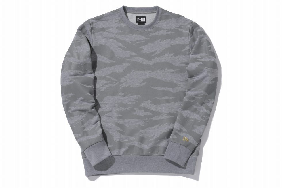 New Era / Crew Neck Sweat Tiger Stripe