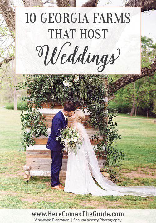 14 Beautiful Georgia Farm Wedding Venues   Farm wedding ...