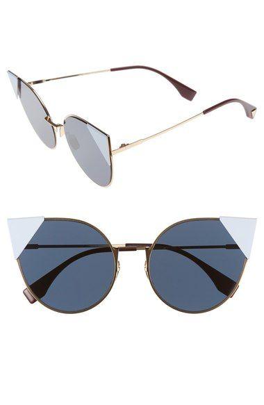 Fendi 57mm Lei Cat Eye Sunglasses available at #Nordstrom