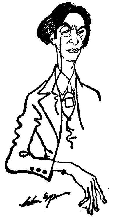 Portret Mosze Brodersona autorstwa Artura Szyka