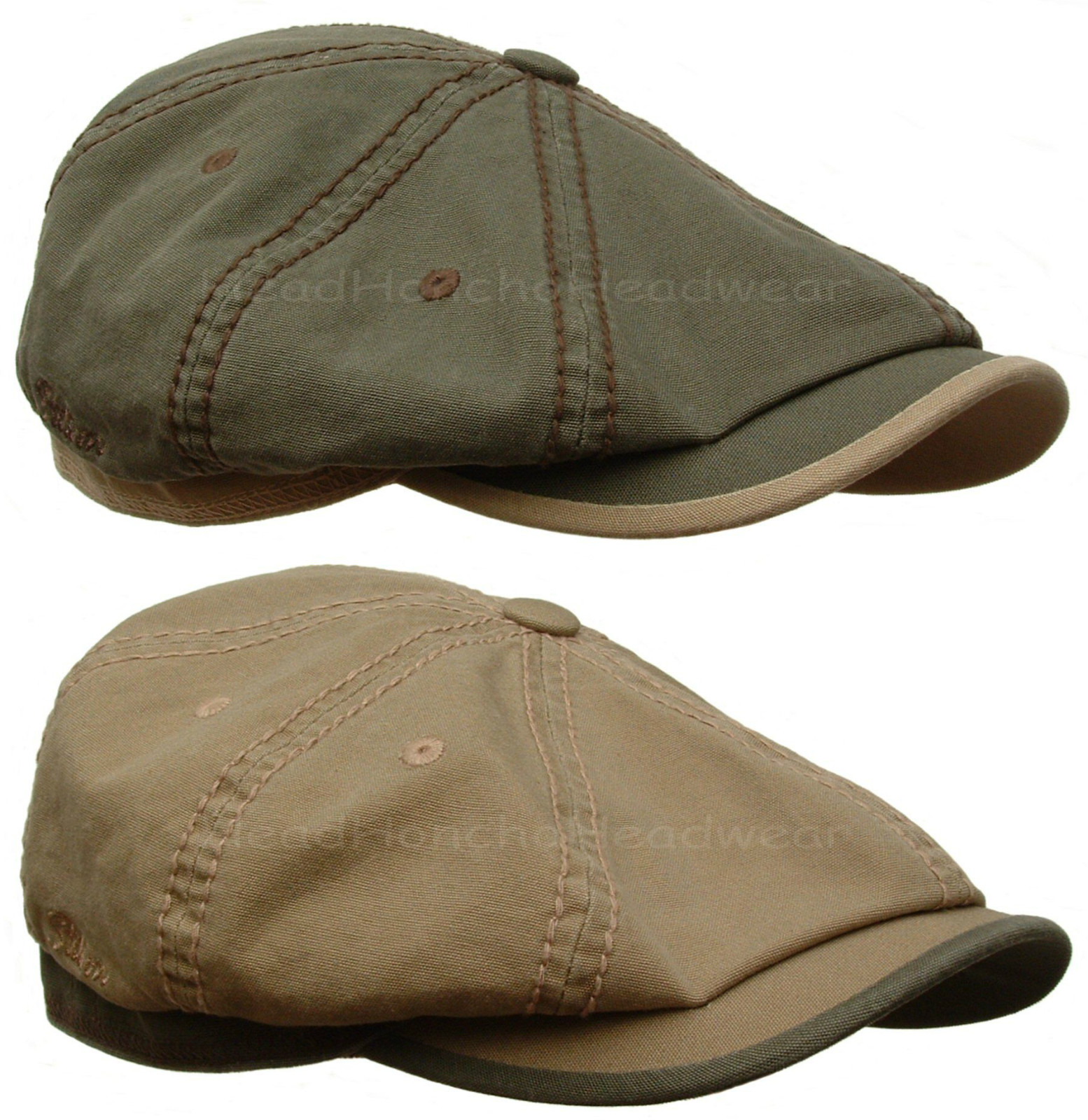 Stetson Hatteras Cotton Gatsby Cap Men Newsboy Ivy Hat Flat Golf Driving  Cabbie  cc9bc7740df
