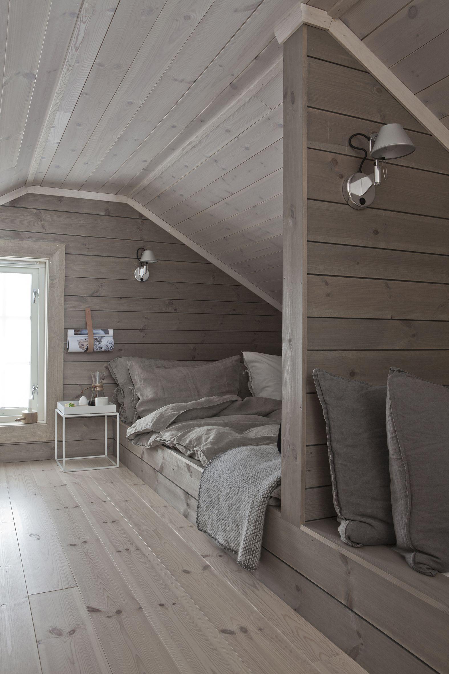 amusing attic loft interior design | Idea of 4th bedroom being a loft as a small 3rd level ...