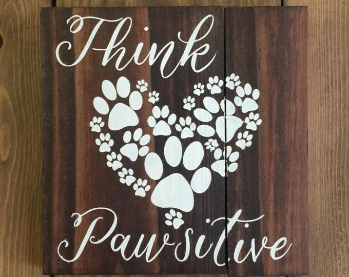 No home is complete without the pitter-patter of doggy feet reclaimed wood sign, dog sign, gift for dog lover, home decor, puppy decor