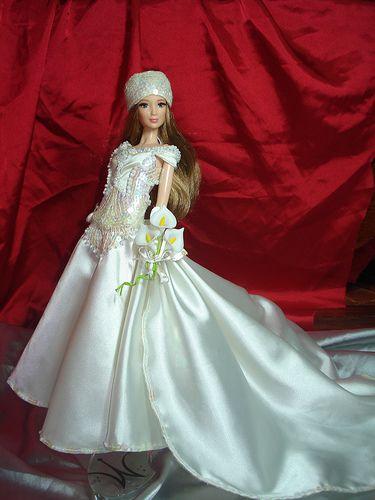 barbie wedding day ooak 2. | muñecas | novios, barbie y vestidos de