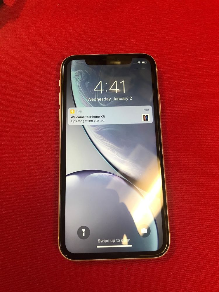 Apple Iphone Xr 64gb White A1984 Cdma Gsm Unlocked Iphone